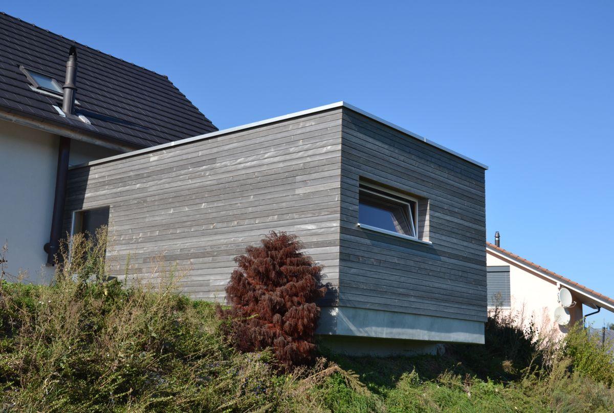 Agrandissement habitation benard 2012 tissot architecture for Agrandissement habitation
